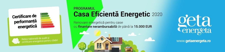 Programul Casa Eficienta Energetic